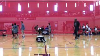Rim Rockers getting it done in win over BRADLEY Basketball Academy, 43-40