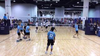 WAVE 16 Morris (SC) (3) defeats A4 Volley 16 Boys (SC) (38), 2-0