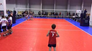 It's a wash between A4 Volley 16 Boys (SC) (38) and Balboa Bay 16Green (SC) (29)
