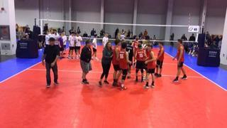 Forza 1 West 16 National (SC) (8) defeats A4 Volley 16 Boys (SC) (38), 2-0