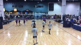 Beach Cities 16 Black (SC) (33) wins 2-1 over A4 Volley 16 Boys (SC) (38)