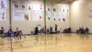 Golden State Prep Black (CA) emerges victorious in matchup against Swish Academy (New Zealand), 62-57