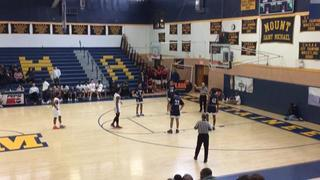 Lawrence Woodmere Academy emerges victorious in matchup against St. Dominic, 47-37