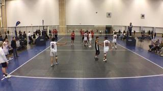 SA TRIBE 18 2 Sakudi Volleyball 18 Boys 0