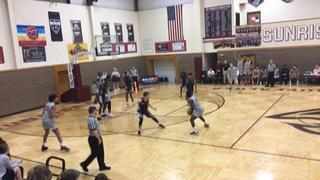 Sunrise Christian puts down Redemption Life with the 93-42 victory