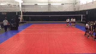 LVL Three Stripe 15 (BY) (6) wins 2-1 over Nola Topher 15 (BY) (12)