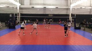 LVL Three Stripe 15 (BY) (6) defeats WFL Waves 15 Power Rox (GC) (5), 2-2
