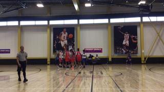Prep Ball Stars 1 picks up the 60-27 win against Prep Ball Stars 2