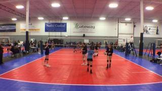 Things end all tied up between Rapid Fire 16 White and SLVBC 16-1
