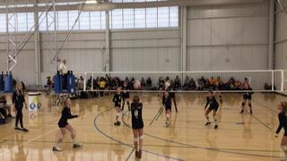 MOVA UA 12 GOLD defeats Kokoro Volleyball 12-3, 3-0