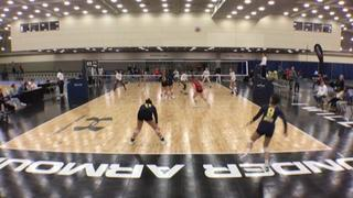 Things end all tied up between Sureshots - 18 and SoCal VBC 18-Aurora