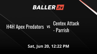 H4H Apex Predators emerges victorious in matchup against Centex Attack - Parrish, 59-47