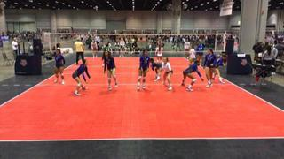 Things end all tied up between WPVC 16 National and Bayside Junior 16