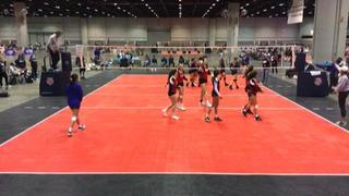Volley One 16-1 SEVA defeats Bayside Junior 16, 2-0