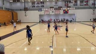 Bria Holmes '26 getting it done in win over Maryland Lady Shooting Stars Gold '26, 48-37