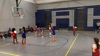 Bria Holmes '26 getting it done in win over H2 Lowco '26, 66-10