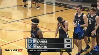 La Lumiere puts down St. Francis with the 90-40 victory